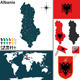 Map of Albania - GraphicRiver Item for Sale