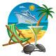 Sea Travel Icon - GraphicRiver Item for Sale