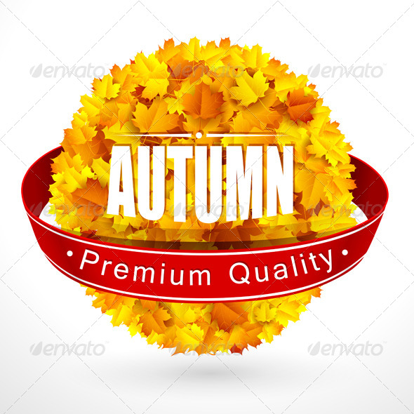 GraphicRiver Autumn Emblem 8783084