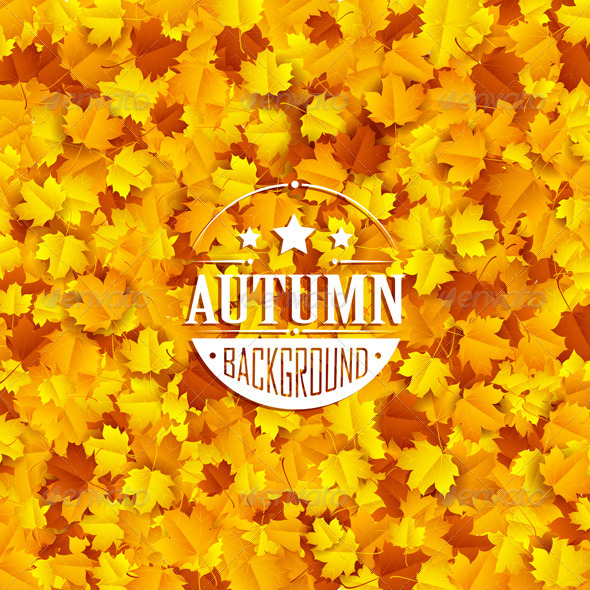 GraphicRiver Autumn Leaves 8783091