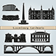 Luxembourg Landmarks and Monuments - GraphicRiver Item for Sale