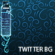Swirly Neon - Twitter Background - GraphicRiver Item for Sale