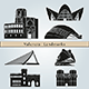 Valencia Landmarks and Monuments - GraphicRiver Item for Sale