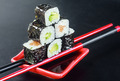 Pyramid of rolls on sticks for sush - PhotoDune Item for Sale
