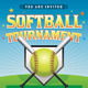 Vector Softball Tournament Illustration - GraphicRiver Item for Sale