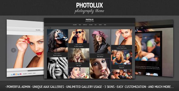 Expression Photography Responsive WordPress Theme - 2