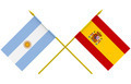 Flags of Argentina and Spain, 3d Render, Isolated - PhotoDune Item for Sale