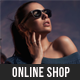 Online Shop - eCommerce Muse Template