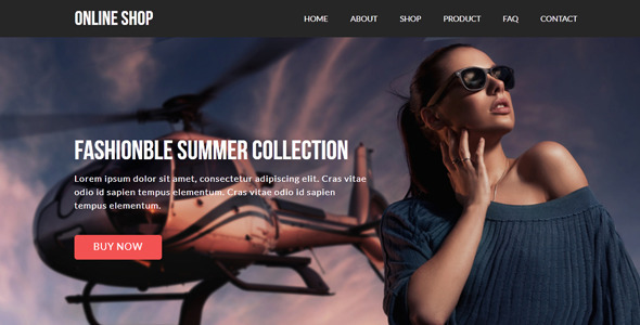 ThemeForest Online Shop eCommerce Muse Template 8784706