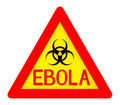 Ebola Biohazard Sign Isolated on White 3d Render - PhotoDune Item for Sale