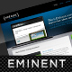 Eminent, an ultra clean & professional layout
