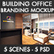 Building Office Branding Mockup - GraphicRiver Item for Sale