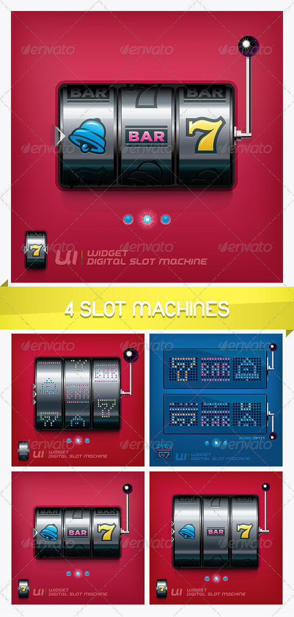 4 Slot Machines