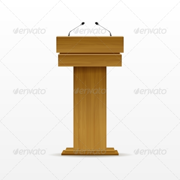 GraphicRiver Wood Podium 8787388