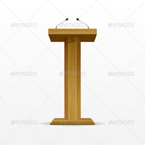 GraphicRiver Wood Podium 8787440