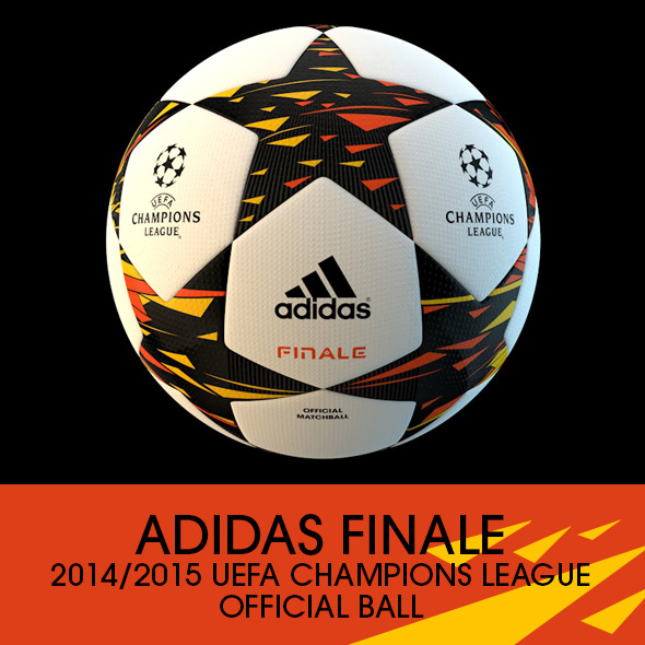 3DOcean Adidas Finale 2014 2015 Champions League Ball 8787995
