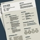 Resume Template - Sands and Sands Light - GraphicRiver Item for Sale