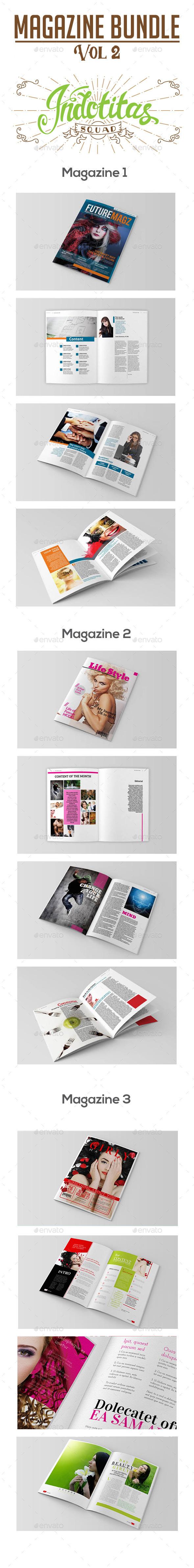 GraphicRiver Magazine Template Bundle Vol 2 8788572