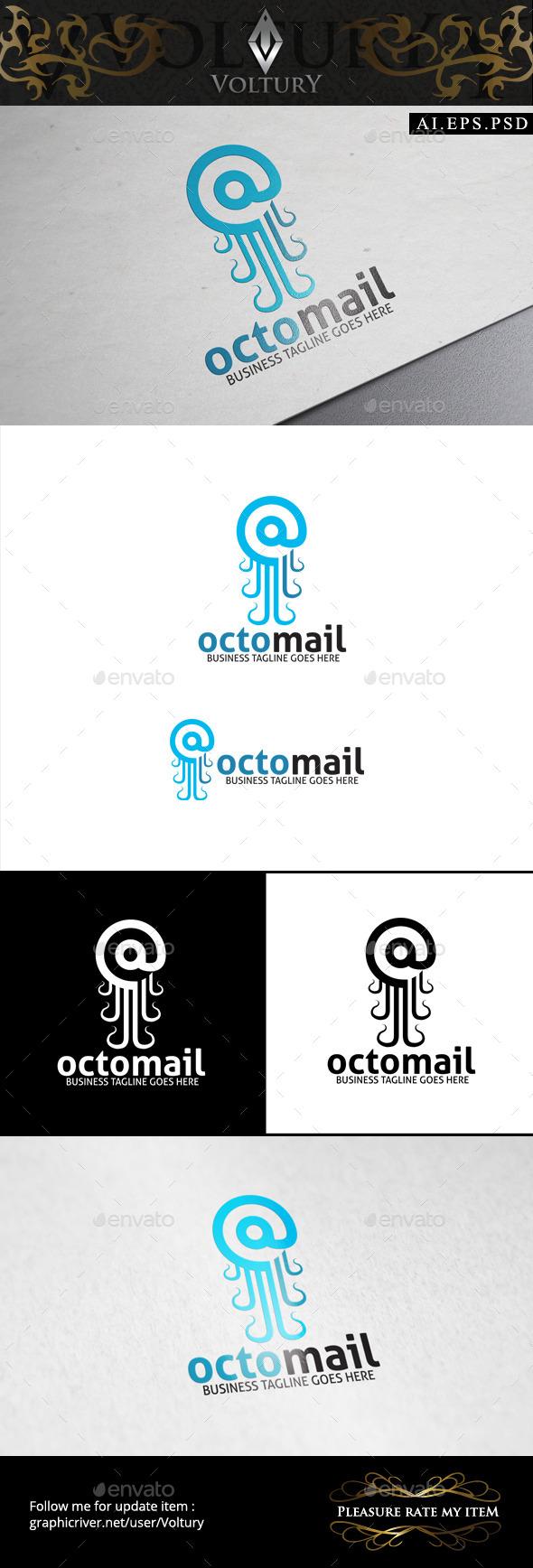 GraphicRiver Octo Mail Logo 8789736