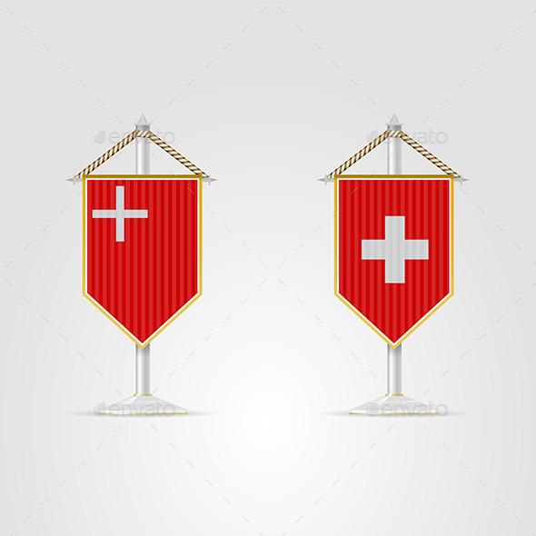 GraphicRiver Illustration of National Symbols of Switzerland 8789773