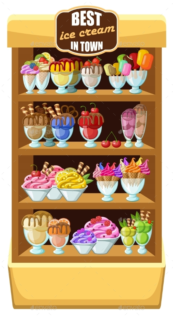 GraphicRiver Ice Cream Shop 8789944