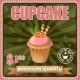 Vintage Cupcake Poster. - GraphicRiver Item for Sale