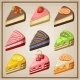 Set of Cakes and Cheesecakes.  - GraphicRiver Item for Sale