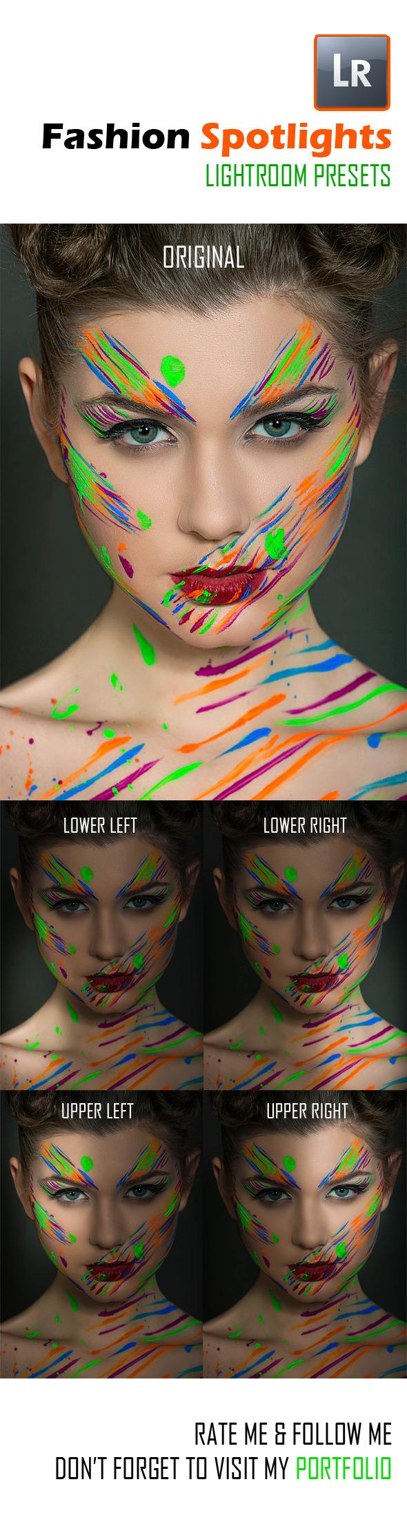 GraphicRiver 4 Fashion Spotlights 8789960