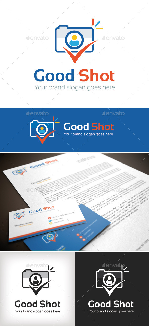 GraphicRiver Good Shot Logo Template 8790105