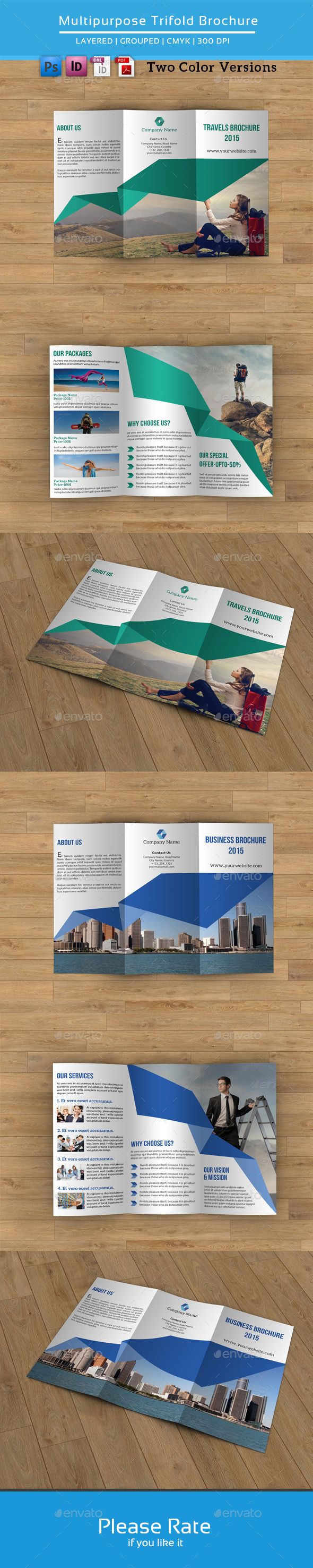 GraphicRiver Multipurpose Business Trifold-V64 8790111