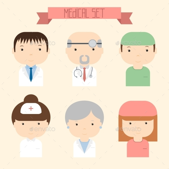 GraphicRiver Doctor Icons 8790157