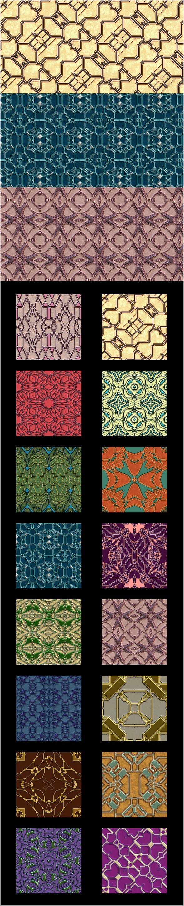 Alien Designer Walls Pattern Pack