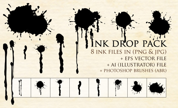 Ink Drop Pack