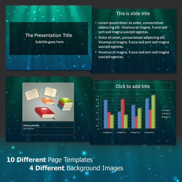 Next Light - Professional PowerPoint Template - Abstract PowerPoint Templates