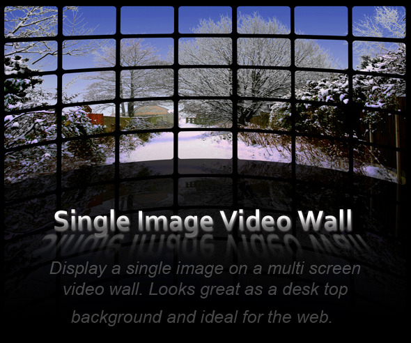 Single Image Video Wall Action Pack
