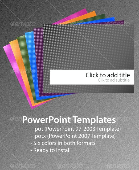 Abstract powerpoint templates from graphicriver page 5 toneelgroepblik Gallery