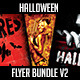 Halloween Flyer Bundle V2 - GraphicRiver Item for Sale