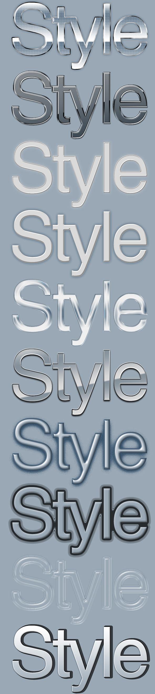 10 Elegant Text Styles 2