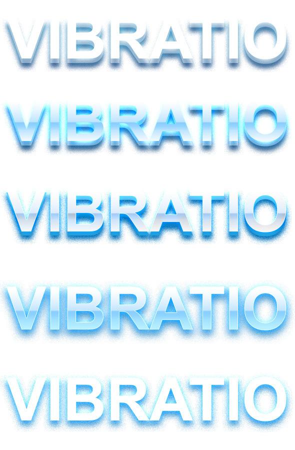 Vibratio - Vibrant 3D Text Styles - Text Effects Styles