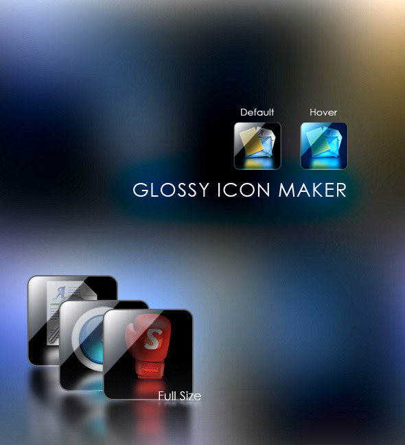 Glossy Icon Maker - Utilities Actions