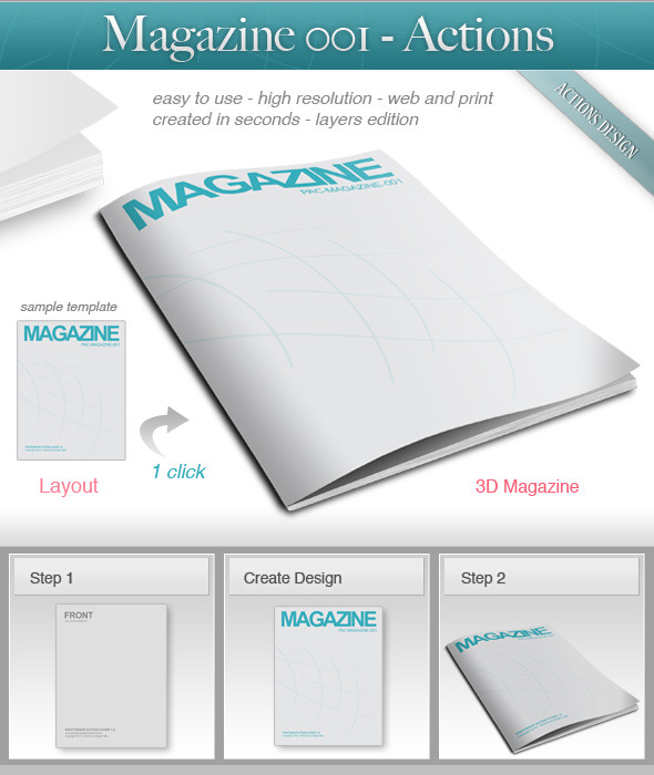 Magazine 001 - Utilities Actions