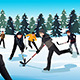 Men Playing Ice Hockey - GraphicRiver Item for Sale