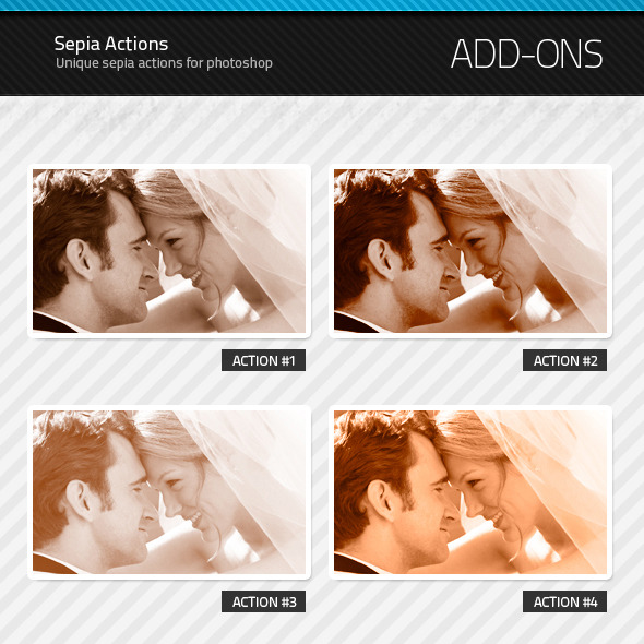 Sepia Actions - Photo Effects Actions