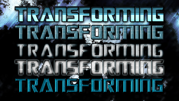 5 Photoshop styles - Text Effects Styles