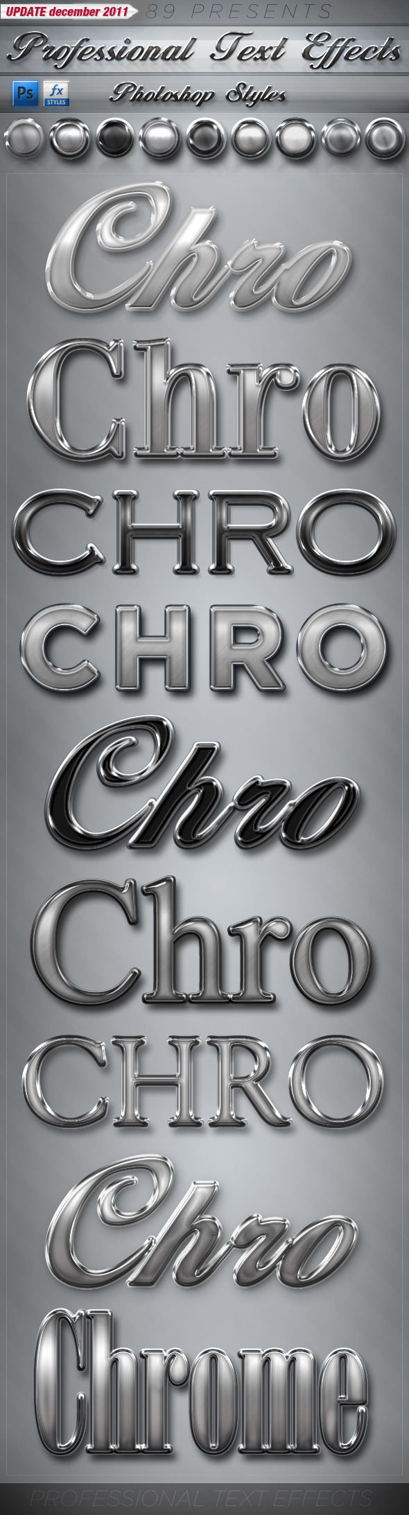 Professional Text Effects - PS Styles - Text Effects Styles