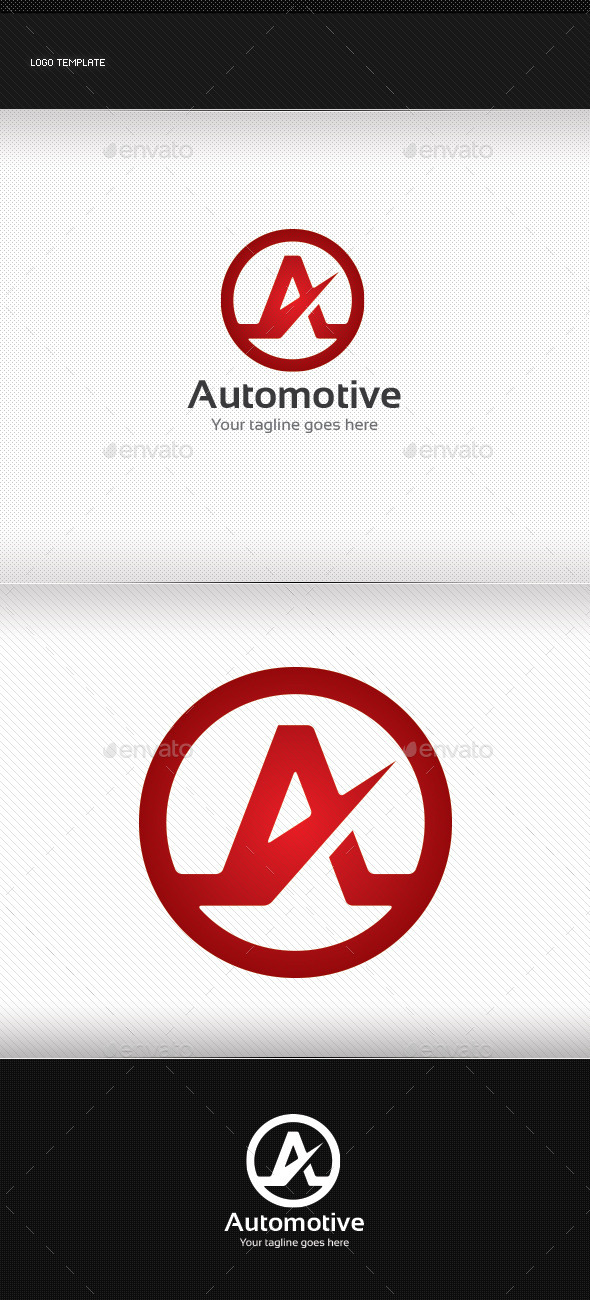 GraphicRiver Automotive Logo 8790440