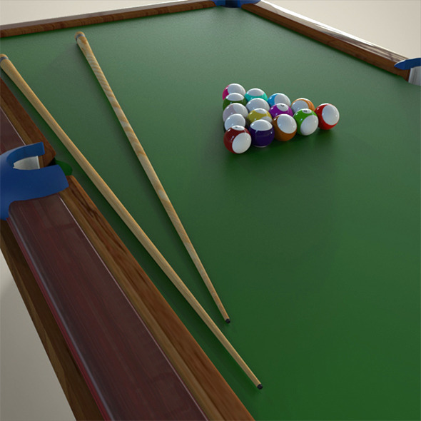 3DOcean Billiard Table 8790481