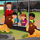 Kids School Field Trip to the Zoo - GraphicRiver Item for Sale