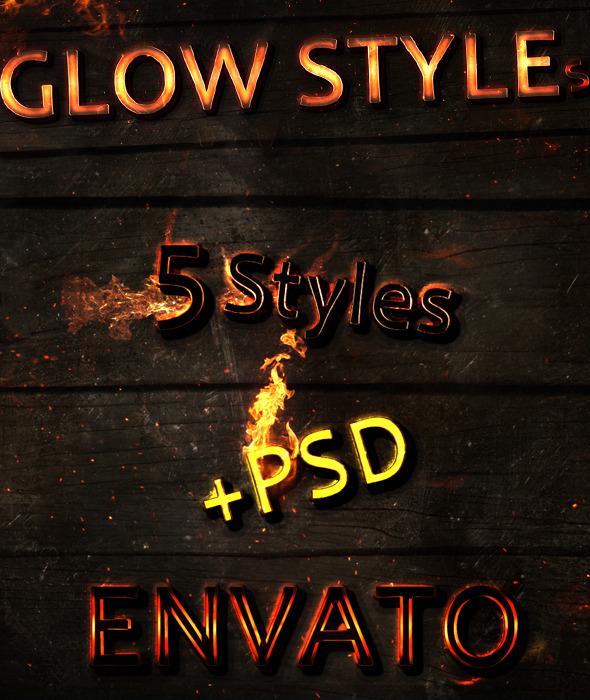 New Text Glow Styles - Text Effects Styles