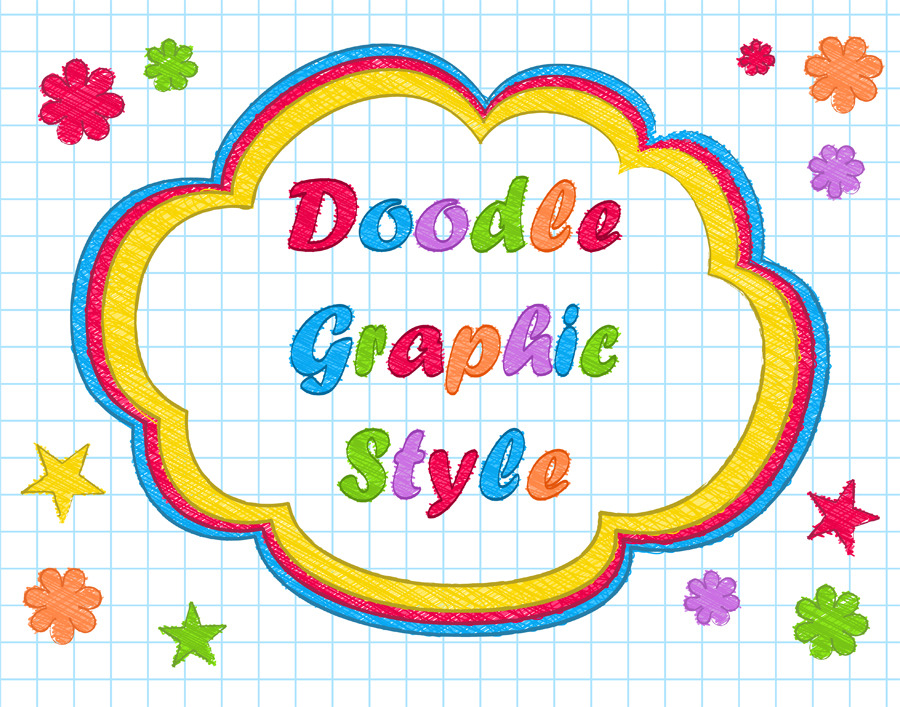 Doodle Style for Adobe Illustrator